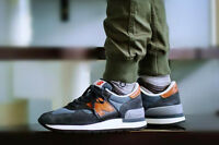 MENS NEW BALANCE NB 990 DENIM NAVY M990DSAO MADE IN USA CASUAL SHOES SIZE 7-12
