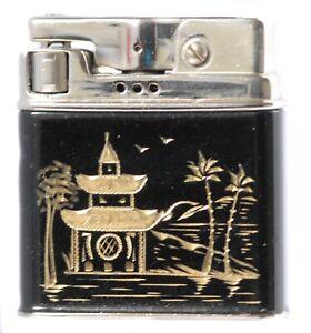 élégant ancien briquet ROWENTA vintage lighter