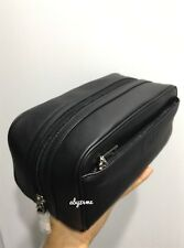 *NWT* Men's Coach Leather Toiletry Travel Kit Bag F58542 Black