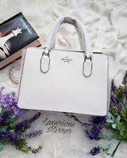Kate Spade Laurel Way Reese Optic White Handbag Tote Purse