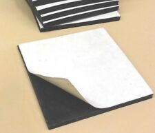 Neoprene Rubber Solid Sheet w/ Peel-Back Adhesive 1/16