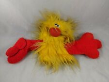 The Puppet Factory Yellow Bird Hand Puppet Plush 1975 Vintage