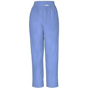CHEROKEE WHITE/BLUE/BLACK HOSPITAL SCRUBS STYLE 190 TROUSERS/PANTS XS - 5XL