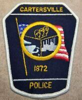 GA Cartersville Georgia Police Patch
