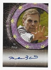 Stargate SG-1 WILLIAM B. DAVIS as Prior Autograph Card A74