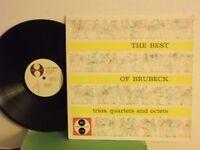 "Dave Brubeck,Jazztone,""The Best of Brubeck,Trios,Quartets & Otets""US,LP,mono,M"