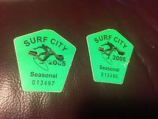 2005 Surf City New Jersey Beach Badge