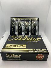 New Vintage Titleist #384 Tour Balata - 90 Compression - Box Of 12 Golf Balls