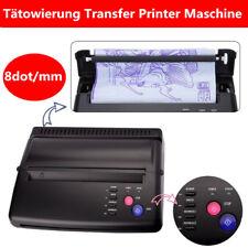 Tattoo Transfer Copier Printer Machine Thermal Stencil Maker EU Plug