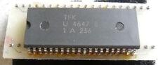 IC U4647B VC TV Video Prozessor mit Adapter, 1 Stück NOS Telefunken