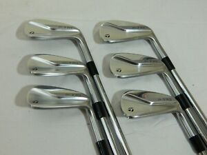 2020 Taylormade P770 iron set 5-PW irons Project X 6.0 Steel Stiff flex