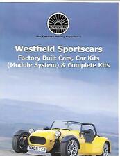 WESTFIELD SPORTSCARS CARS KIT CAR DETAILED PRICE LIST SALES BROCHURE AUGUST 2006