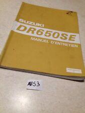 Suzuki DR650 DR650SE SE DR 650 éd.1995 manuel  atelier workshop manual