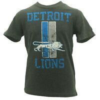 Detroit Lions Official NFL Apparel Kids & Youth Size Distressed T-Shirt New Tags