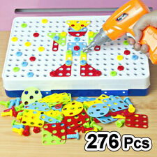 Puzzle Educational Toys Electric Drill Screw Group Toy Nut Disassembly Match Kid