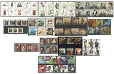 2009 Royal Mail Commemorative Sets MNH. Sold separately & as full year set.