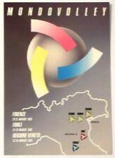 Cartolina Mondovolley - Firenze Forlì E Regione Veneto 1988