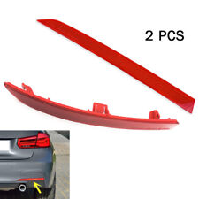 Perfect For BMW 3 Series F30 F31 M3 OEM 2 Pieces Rear Bumper Reflectors PAIR Kit
