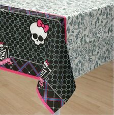 """Monster High Paper Table Cover Decoration 54"""" x 96"""" 573657 Free Shipping!"""