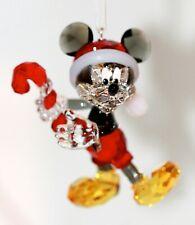 Swarovski Original Figurine Christmas Ornament Mickey Mouse 5412847 Neu