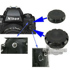 10-Pin Remote+Flash PC Sync Terminal Cap Cover For Nikon F100 D200 D1X D2X S3 S5