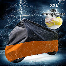 XXL Motorcycle Cover Rain Dust For Harley Davidson Electra Glide Ultra Classic