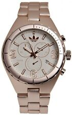New Adidas Cambridge Chronograph Rose Gold Aluminum Date Watch 45mm ADH2575 $150