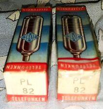 NOS Telefunken PL82 (16A5) vacuum tube radio TV valve, TESTED
