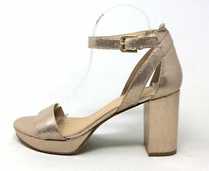 CL By Chinese Laundry Womens GON Heeled Sandal Light Gold Size 10 M US