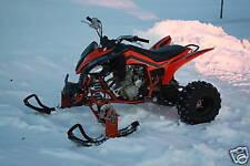 ATV Tires to Polaris Skis Conversion Kit for Yamaha YFZ450 YFZ450R YFZ450X Quad
