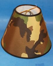 Green Camo Handmade Lamp Shade Lampshade