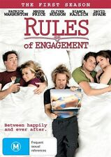 Rules Of Engagement : Season 1 (DVD, 2011) VGC Pre-owned (D89)