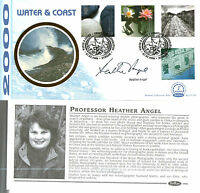 7 MARCH 2000 WATER AND COAST BENHAM BLCS 176b HAND SIGNED HEATHER ANGEL FDC SHS
