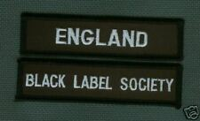 BLACK LABEL SOCIETY COLLECTIONS: BLS ENGLAND UK BLS FAN CLUB TWIN PATCH SET