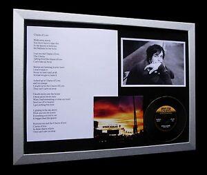 RYAN ADAMS Chains Of Love LTD Lyrics QUALITY FRAMED+FAST GLOBAL SHIP+Not Signed