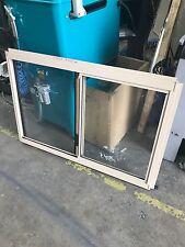 Aluminium slide window paper bark  600Hx910W