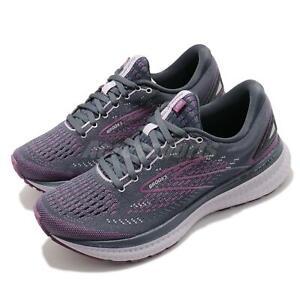 Brooks Glycerin 19 Purple Grey Women Cushion Road Running Shoes 1203431B 572