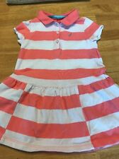Nautica Cotton Dress 24 Months. Pink / White. Pre Owned. Excellent Condition