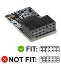 ASUS TPM-M R2.0 TPM 2.0 Module (14-1 Pin) Trusted Platform Module LPC