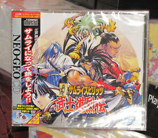Samurai Spirits Zankuro RPG (1997) New Factory Sealed Japan Neo Geo CD Import
