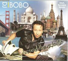 DJ BOBO Around the World 6TRX  EXTENDED & MIXES & INSTRUMENTAL CD Single SEALED