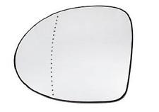 RENAULT TWINGO II Spiegelglas Außenspiegel Links Asphärisch Chrom