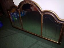 Gorgeous Antique Vintage Panel Mirror