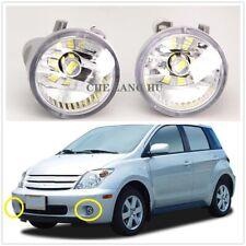 Pair For Toyota Scion xa 2004 2005 2006 Front LED Fog Light Lamp With LED Bulbs