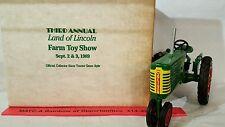 Ertl Oliver Row Crop 77 1/16 diecast farm tractor replica collectible