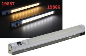 Chilitec LED Lichtleiste mit Bewegungsmelder kabellos Warmweiß batteriebetrieben