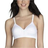 Vanity Fair Women's Beyond Comfort Seamless Back Wireless Bra, White, Size 36B K