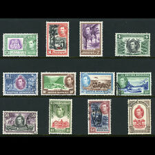 BRITISH HONDURAS 1938-47 Set of 12 Values. SG 150-161. Fine Used. (AT295)