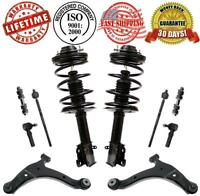 PT Cruiser 2001-2005 Front Complete Struts + Control Arms Sway Bar & Tie Rods