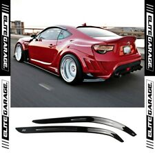 Toyota 86 Subaru BRZ - Side Window Visors Weathershields (12-19) GT GT86 ZN6